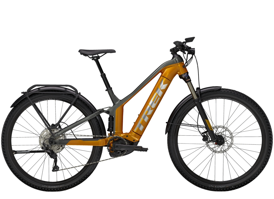 Trek Powerfly FS 4 Equipped XL (29  wheel) Factory Orange/Lithium Grey