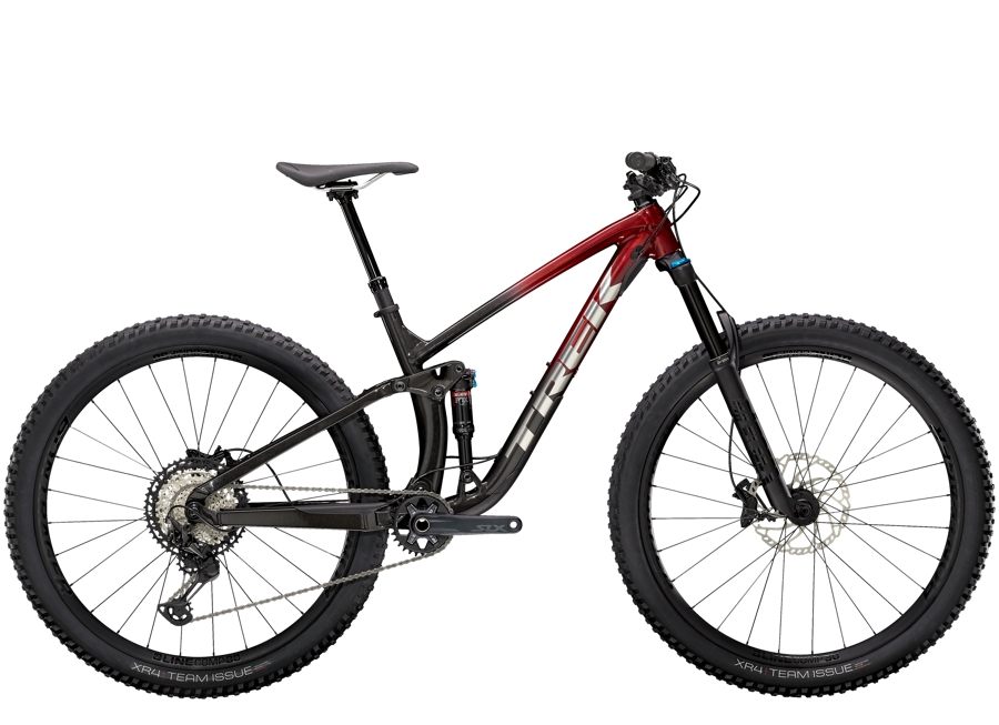 Trek Fuel EX 8 XT XL (29  wheel) Rage Red to Dnister Black Fade