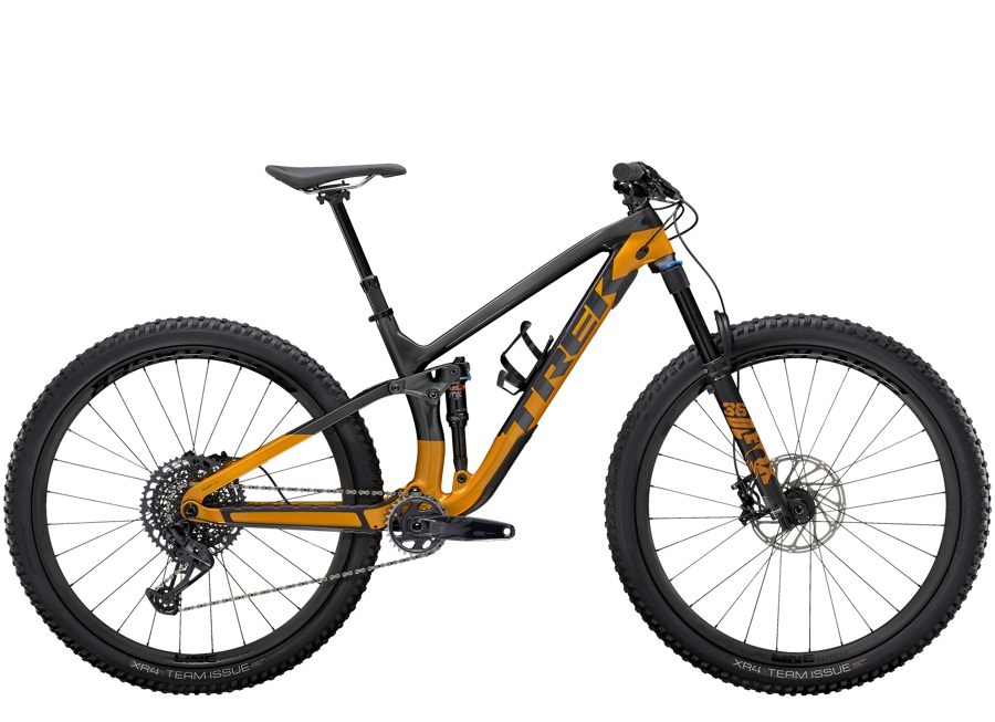 Trek Fuel EX 9.8 GX ML (29  wheel) Lithium Grey/Factory Orange